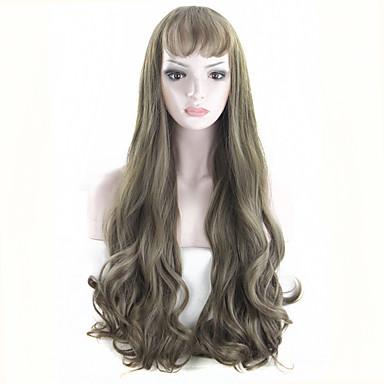 nye ankommer Kylie Jenner varmebestandig hår paryk cosplay paryk mode syntetisk foran paryk snerpet cyan paryk