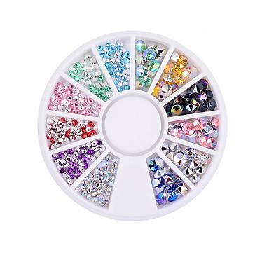 1 pcs Negle Smykker Smuk Negle kunst Manicure Pedicure glitter / Negle smykker