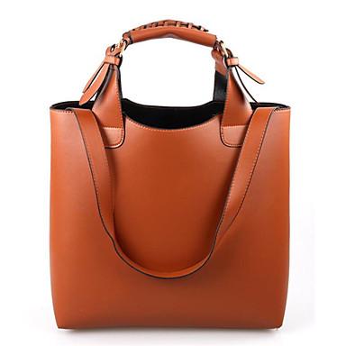 Damen Taschen PU Umhängetasche für Normal Ganzjährig Orange Braun Rosa