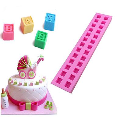 Backwerkzeuge Silikon Umweltfreundlich Kuchen / Plätzchen / Chocolate Kuchenformen 1pc