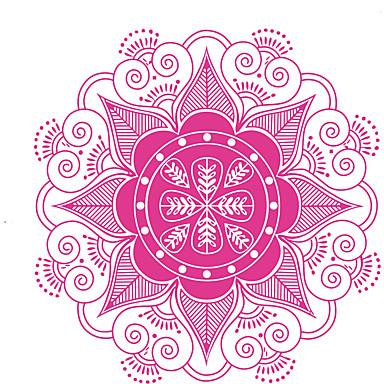 Bloemen Wall Stickers Vliegtuig Muurstickers Decoratieve Muurstickers,Vinyl Materiaal Verwijderbaar / Verstelbaar Huisdecoratie