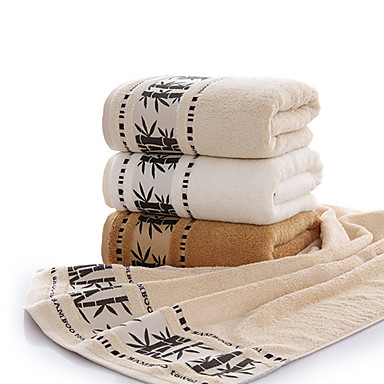 Badhanddoek,Effen Hoge kwaliteit 100% Bamboevezel Handdoek