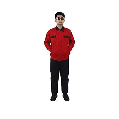 Außenbau Kfz-Reparatur-Werkzeuge Schutzkleidung und Schutzkleidung (Verkauf rot, 180)