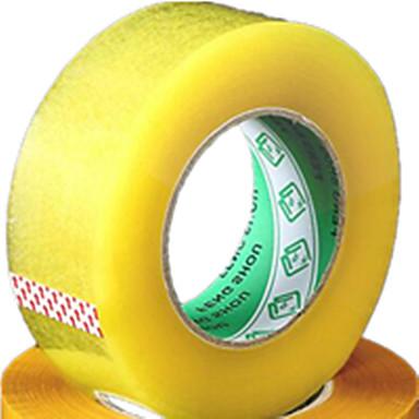 transparante kleur ander materiaal verpakking& scheepvaart tape een pak van twee