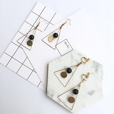 Ohrring Geometrische Form Tropfen-Ohrringe Schmuck 1 Paar Modisch Alltag / Normal Kupfer Damen Goldfarben