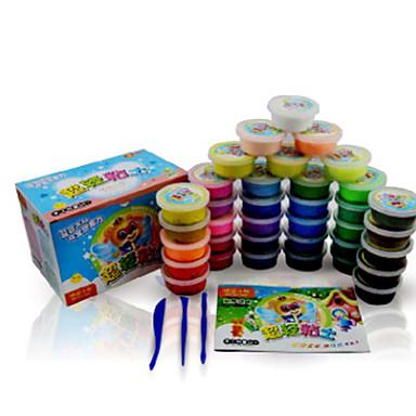 Super Light Clay Putties Speel Deeg, Plasticine & Putty Speeltjes Beer 3D Nieuwigheid DHZ 36 Stuks