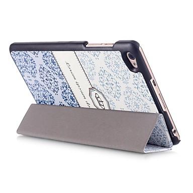 Etui Til Huawei Fuldt etui Tablet Etuier Patchwork Hårdt PU Læder for