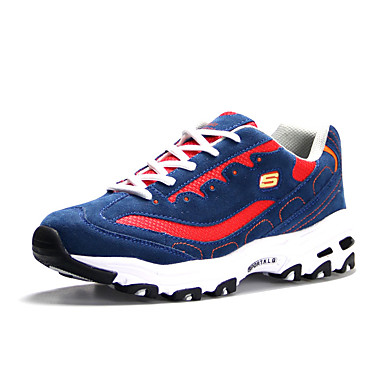 Sneakers-PU-Komfort-Unisex--Fritid-Flad hæl
