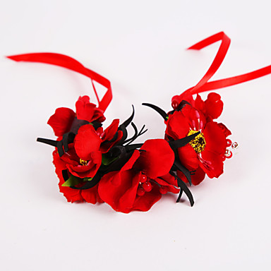 Hochzeitsblumen Armbandblume Hochzeit Party / Abend Chiffon Polyester Schaum 3 cm ca.