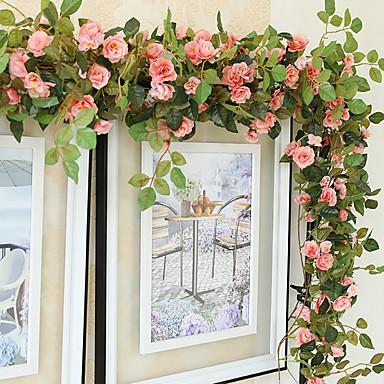 1 Afdeling Silke Roser Vægblomst Kunstige blomster