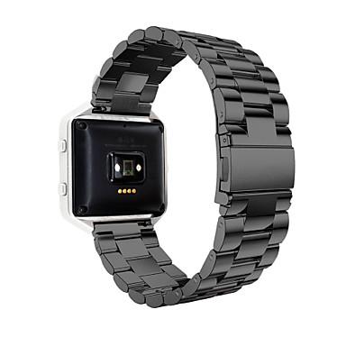Uhrenarmband für Fitbit Blaze Fitbit Sport Band Edelstahl Handschlaufe