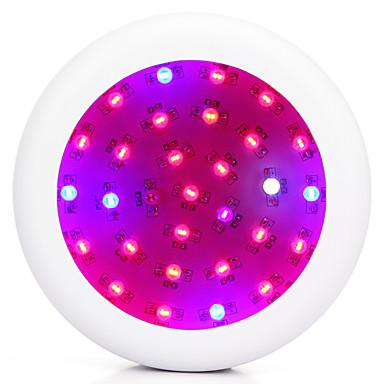 LED-vækstlampe 3000 lm Naturlig hvid / Rød / Blå / UV Højeffekts-LED AC 85-265 V 1 stk
