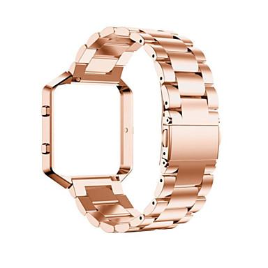 Urrem for Fitbit Blaze Fitbit Klassisk spænde Metal / Rustfrit stål Håndledsrem