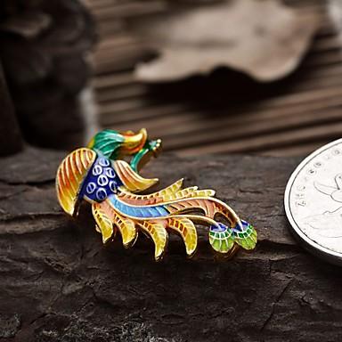DIY smykker phoenix stil forgyldt charm