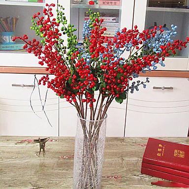 1 1 Branch Polyester / Plastikk Others Bordblomst Kunstige blomster 31.49inch/80cm