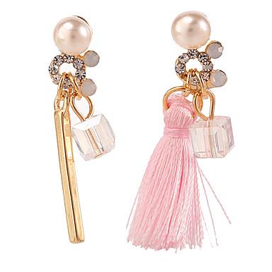 Dame Dråbeøreringe Mode Perle Legering Geometrisk form Smykker Til Daglig Afslappet