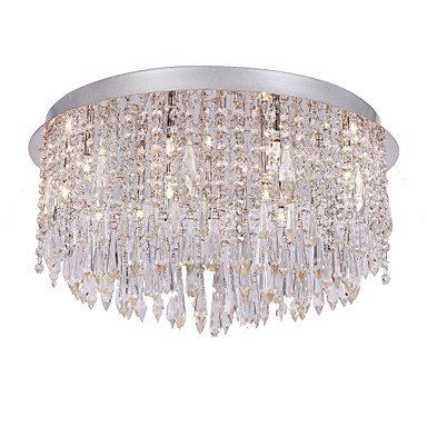 SL® Kristal Sıva Altı Monteli Ortam Işığı - Kristal, 110-120V / 220-240V Ampul Dahil / G4 / 50-60㎡