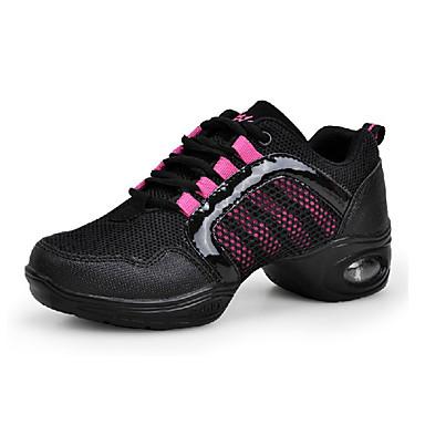 Dansesko(Sort / Pink / Rød / Guld) -Kan ikke tilpasses-Chunky heels-Damer-Dansesko
