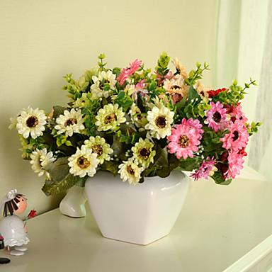 Keinotekoinen Flowers 1pcs haara Moderni tyyli Päivänkakkarat Pöytäkukka
