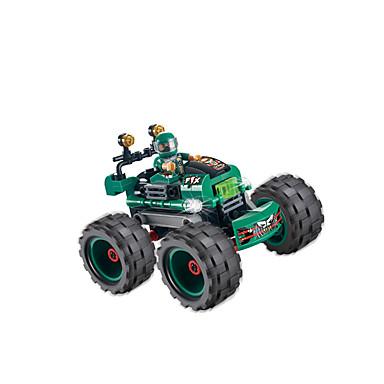 Byggeklodser Legetøj Bil Racerbil Originale Kreativ GDS Plast Drenge 122 Stk.