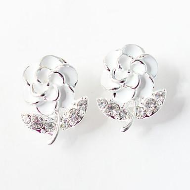 Damen 1 Tropfen-Ohrringe bezaubernd Aleación Blume Schmuck Hochzeit Party Alltag Normal Modeschmuck