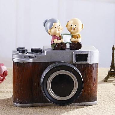 vintage kamera sparegris pynt til bryllup værelse dekorationer