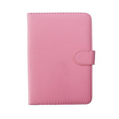 PU Leather Helfarge Tablet sak med tastatur 10