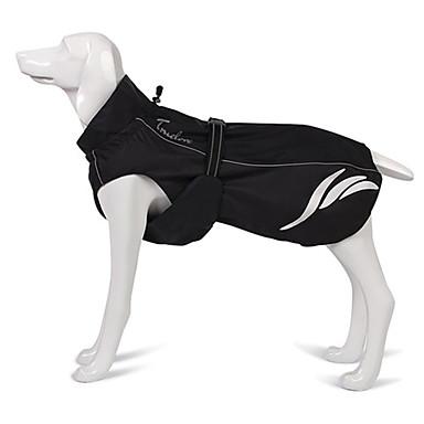 honden Jack Hondenkleding Zomer Effen Sportief Waterdicht Zwart Oranje Groen