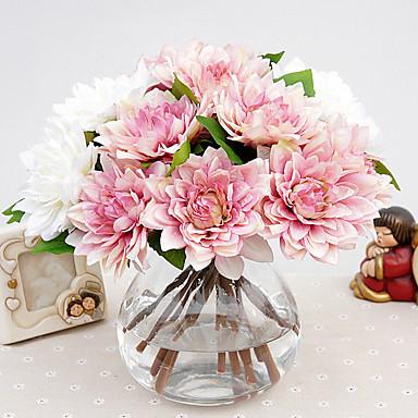 1 Ramo Seda Outras Flor de Mesa Flores artificiais