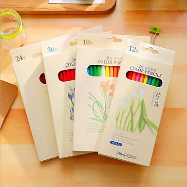 farve 36 farve blyant bly box farve maleri