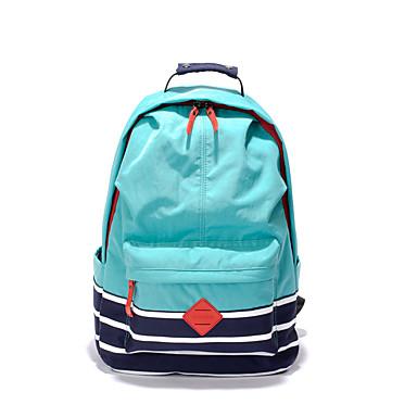 Damen / Unisex Taschen Segeltuch / Nylon Schultasche für Sport / Draussen Rosa / Hellgrau / Wassermelone