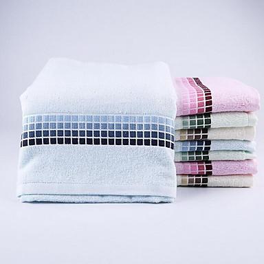Frisk stil Badehåndkle, Reaktivt Trykk Overlegen kvalitet 100% Bambus Fiber Strikket Vanlig Badehåndkle