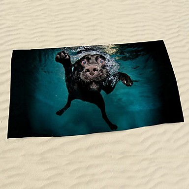 StrandtuchReaktiver Druck Gute Qualität 100% Mikrofaser Handtuch