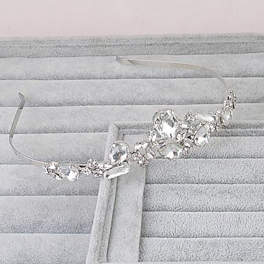 Kristall Stirnbänder Kopfschmuck Hochzeit elegante weibliche Stil