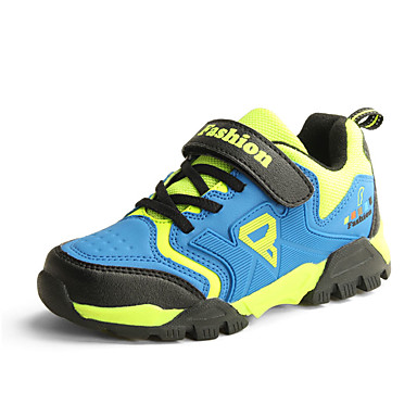 Jungen Schuhe Tüll Frühling Herbst Komfort Sportschuhe Wandern Schnürsenkel für Normal Grün Blau Khaki