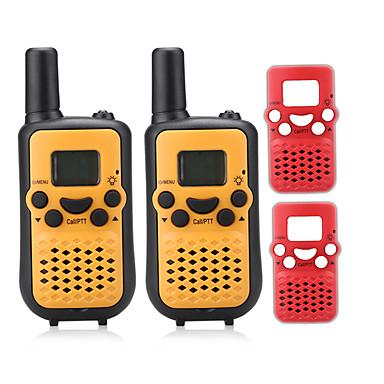 T899BR Walkie-talkie Håndholdt VOX LCD Scan Overvågning 3-5 km 3-5 km 8 0.5W Walkie talkie Tovejs radio
