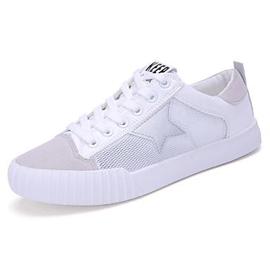 Sneakers-TylDame-Grøn Rød Sølv-Sport-Flad hæl