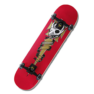 Standard Skateboards Professionelt Rød Grøn