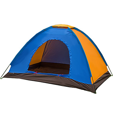 Fengtu 2 personer Telt Tilbehør Telt Dobbelt camping telt Et Værelse Fugtsikker Vandtæt Hurtigtørrende Vindtæt Ultraviolet Resistent