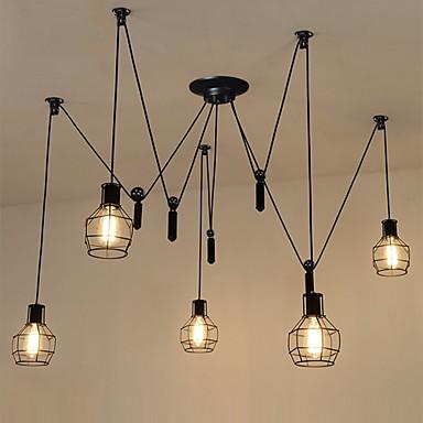 Ρουστίκ/Εξοχικό Βίντατζ Χώρα Ρετρό Mini Style Πολυέλαιοι Χωνευτό φωτιστικό οροφής Για Υπνοδωμάτιο Διάδρομος Θερμό Λευκό 110-120 V 220-240