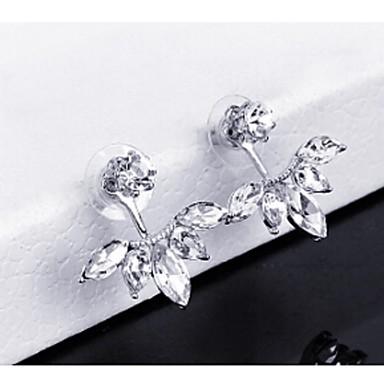 Dames 1 Druppel oorbellen Modieus Legering Anderen Bladvorm Sieraden Goud Zilver Bruiloft Feest Kostuum juwelen