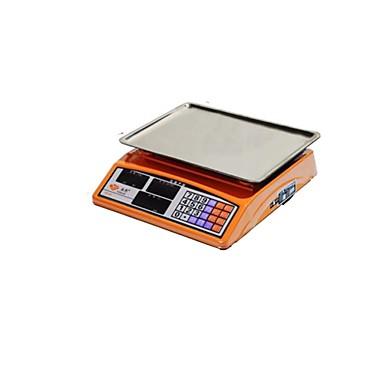 30キロ価格設定スケールを計量赤鷲の電子計量スケール、商品(販売赤ttext凹の皿)と述べました