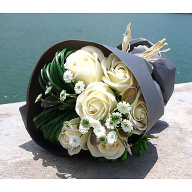 Brudebuketter Buketter Bryllup 6.69 tommer (ca. 17cm)