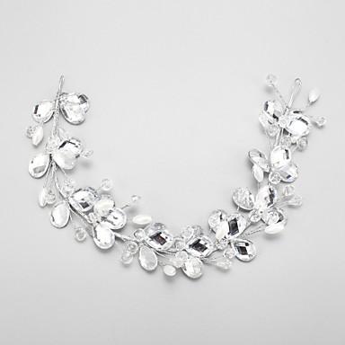 Krystall / Legering pannebånd med 1 Bryllup / Spesiell Leilighet Hodeplagg
