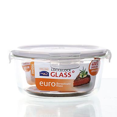 1/set Køkken køkken Glas Madpakkebokse 180*82mm