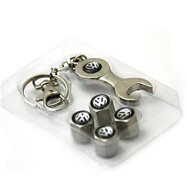 auto standaard ventieldopje ventiel deksel met metalen security ventieldopje steeksleutel sleutelhanger