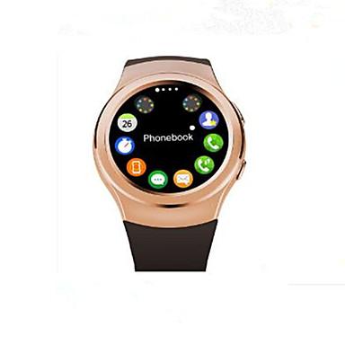 slimme horloge rond scherm kan in de micro SIM-kaart woorden meten van de hartslag bluetooth sporthorloge worden gestoken