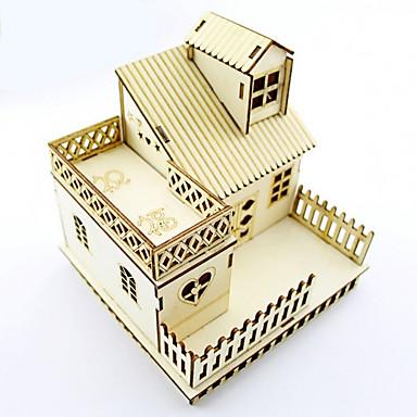 mode creatieve kleine houten huis decoratie licht model nachtlampje verjaardagscadeau huis valentijn licht