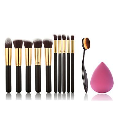 11pcs Make-up pensler Professionel Brush Sets Syntetisk Hår Bærbar / Øko Venlig / Professionel Træ