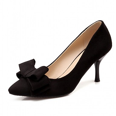 Women's Shoes Synthetic / Patent Leather / Leatherette Spring / Summer Comfort / Novelty / Basic Pump Heels Walking Shoes Stiletto Heel